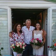 Famille au complet pour la Saint-Rose!
