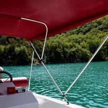 Promenade en bateau dans le Verdon