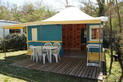 Canevas bungalow Trigano