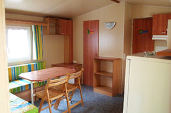 Mobil-home Azuréa 2 chambres-sdb-wc