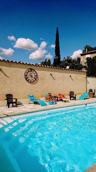Piscine Camping Rose de Provence-Verdon
