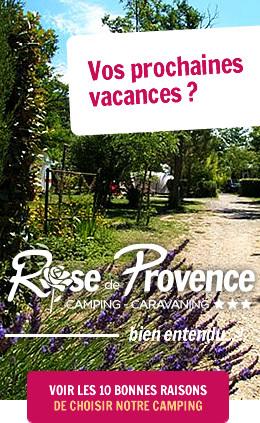 10 bonnes raisons de choisir le Camping Rose de Provence - Verdon***