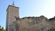 Clock  tower of Riez-la-Romaine