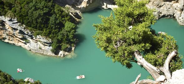 The Verdon canyon close to Camping Rose de Provence - Verdon***