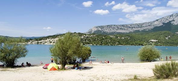 Verdon lake
