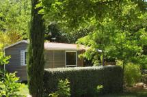 Mobil-home Loggia Bois