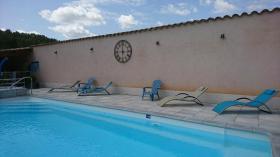 piscine  camping rose de Provence Riez